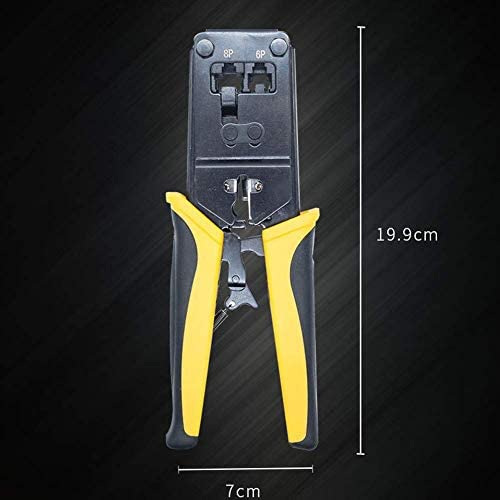 BLTR Soft Crimping Pliers Network Cable Tool Cat6 Cat8 Network Crimping Tool Crimper Pliers Tool Cable Professional Heavy Duty Plier Set Household