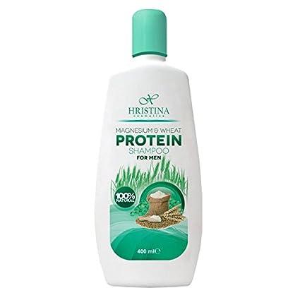 Champú for MEN 100% Natural del magnesio & weizenprotein contra caída del cabello