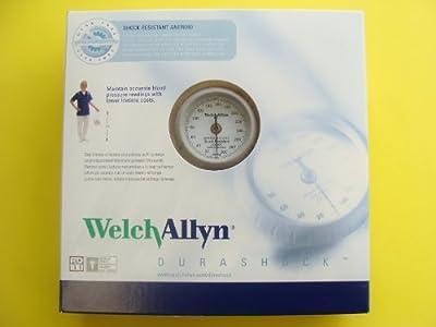New Welch Allyn Durashock Adult Cuff Aneroid Sphygmomanometer DS44-11