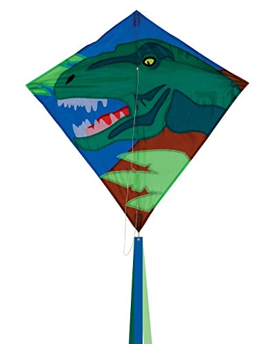 In the Breeze Dino Diamond Kite, (12' Wind Spinner Spinners)