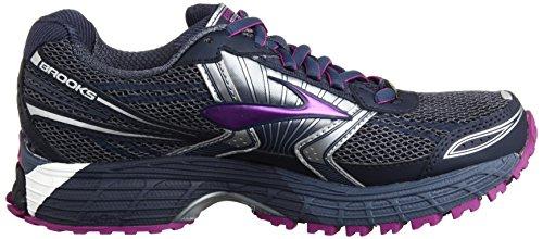 Brooks Running Adrenaline ASR 11 GTX,Scarpe sportive, Donna, Nero ( Vintage Indigo/Midnight/Purple Cactus Flower)