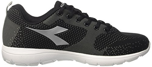 Diadora X Run Light W, Zapatillas de Running Para Mujer Negro (Nero/argento)