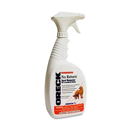 Oreck No Return Pet Odor & Pet Stain Remover - Liquid (2-pack) by Oreck