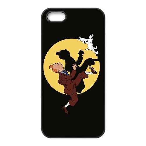 Les 4 4S cellulaire cas de téléphone Aventures De Tintin XV58YK7 coque iPhone G8IH3T6RS Coque
