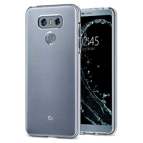 Spigen Liquid Crystal Designed for LG G6 Case/LG G6 Plus Case (2017) - Crystal Clear