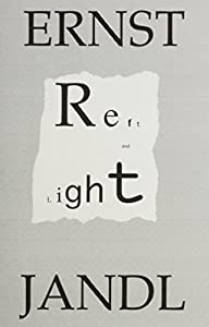 Reft And Light Poems By Ernst Jandl Book By Ernst Jandl