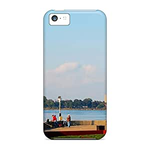 New Premium Flip Cases Covers Roosevelt Isl Lighthouse In Nyc Skin Cases For Iphone 5c