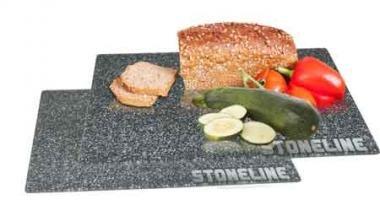 STONELINE Glasschneidebrett, 2-teilig