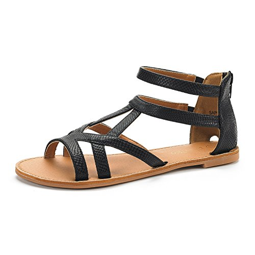 dream-pairs-sapha-new-womens-summer-trendy-print-gladiator-back-zipper-flat-sandals-black-pu-size-55