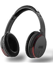 Auriculares Bluetooth con Cancelación de Ruido Activa ANC - August EP735 - Auriculares con cancelación de ruido activa para Smartphones / Tablet / Computer