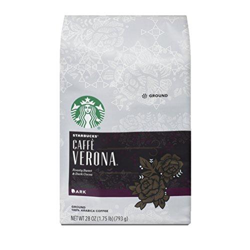 Starbucks Caffè Verona Dark Roast Ground Coffee, 28-ounce bag