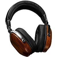 B8 Fine Walnut Wood Powerful Bass Dynamic&Balance Armature Hybrid Over Ear Headphone