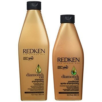 Redken Diamond Oil Shampoo 10.1oz & Conditioner 8.5oz Duo Set