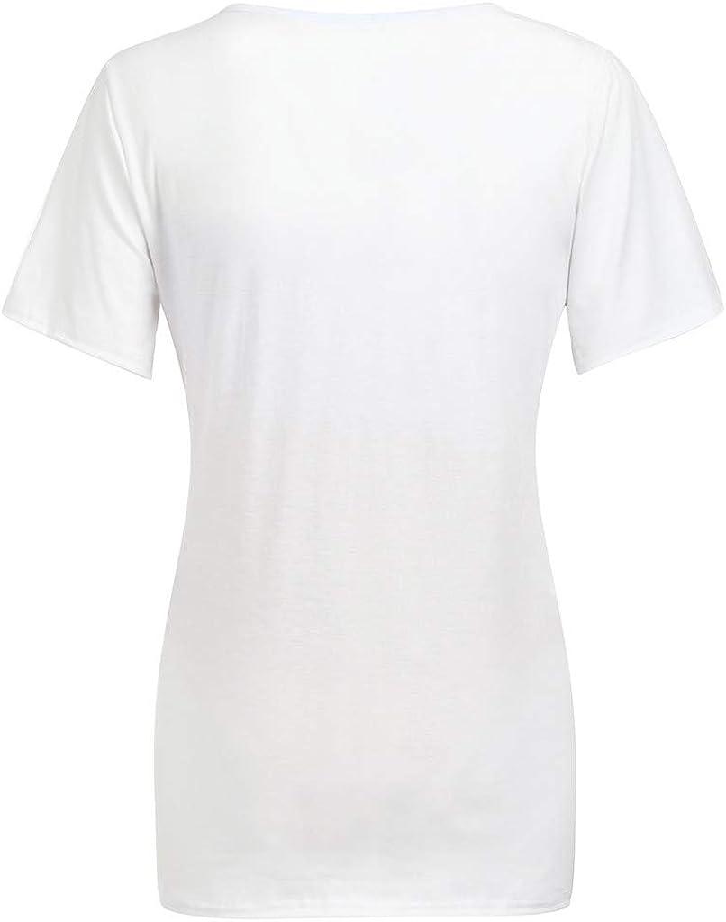 Blusa Embarazada para Premamá, ZARLLE Camiseta de Maternidad de Manga Corta Top con Moda T-Shirt Camiseta Divertido Estampada para Mujer: Amazon.es: Ropa y accesorios