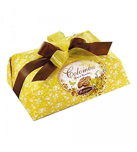 Flamigni - Colomba (Paloma) de Chocolate sin Frutas y Pasas Secas, con Glaseado de Almendras y Avellanas 1kg: Amazon.es: Alimentación y bebidas