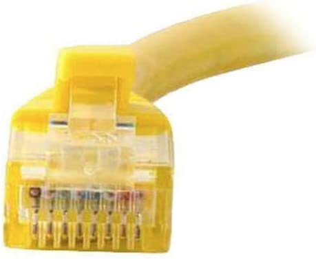 Yellow Snagless Unshielded Ethernet Network Patch Cable RepSupplements 00438 Cat5e Cable