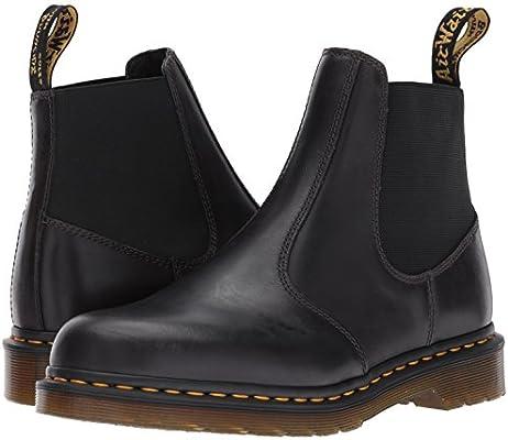 9509910c9ba Dr. Martens Men's Hardy Grey Chelsea Boot, Gunmetal, 10 Medium UK ...