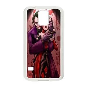 DIY Harley Quinn Cover Case for SamSung Galaxy S5 i9600, DIY Harley Quinn S5 Phone Case, DIY Harley Quinn i9600 Cell Phone Case WANGJING JINDA