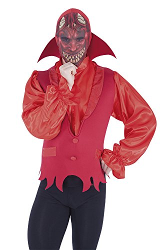 - Haunted House-Mask Textile Rubie's Lucifer Spain S5351