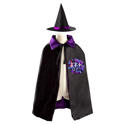 Futurama Halloween Costumes For Sale - Kids Wizard Witch Costume Set Futurama Philip J.Fry Cosplay Party Reversible Cape With Hat
