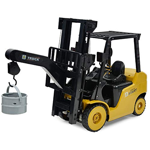 1:8 RC 8CH Forklift Truck, Sonmer Simulation Construction Toys,With 2.4GHz Remote Control,Perfect Christmas Birthday Present For Kids(Above age 8) by Sonmer (Image #2)