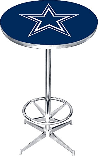 Dallas Cowboys Pub Table (Imperial Officially Licensed NFL Furniture: Round Pub-Style Table, Dallas Cowboys)