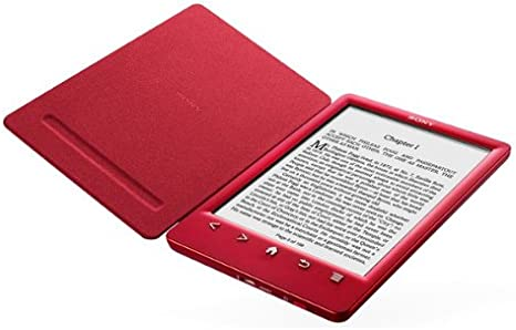 Sony PRS-T3 - rojo - WiFi - Lector eBook + funda + PRSA-CL30 ...