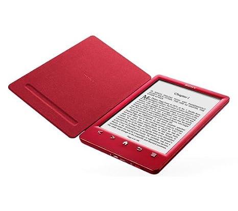 Sony PRS-T3 - rojo - WiFi - Lector eBook + funda + PRSA-CL30 ...