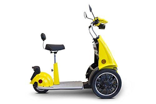 E-Wheels - EW-77 EDGE Scooter - 3-Wheel - Yellow - features