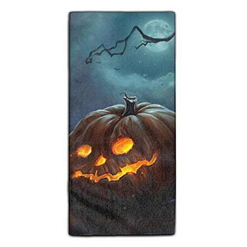 Spooky Halloween Towels Fingertip, Personalized Gift, 11.8 X