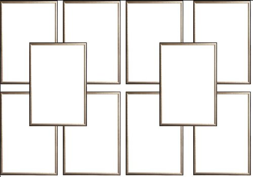 Ten(10) Wood Metallic Gold Finish Poster Frame 24x36 or 36 x 24 by Generic