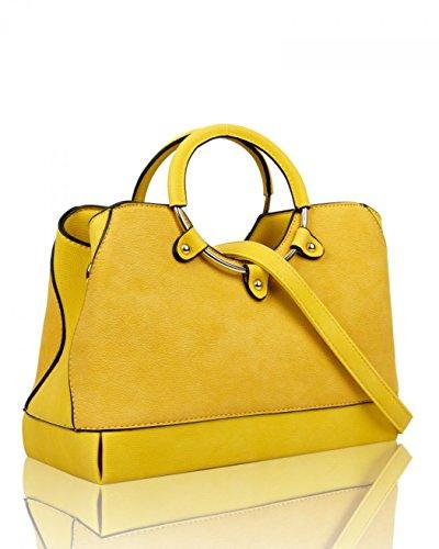 Shoulder Leather A4 Faux Bag Handbags Grab Cw160965 Leahward Tote Women's Fashion Large Silver College Bags BnqzwY