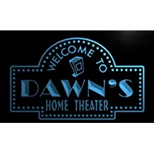 phg105-b Dawn's Home Theater Popcorn Bar Beer Neon Light Sign