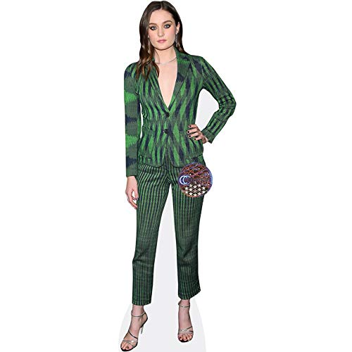 Grace Victoria Cox (Green Suit) Mini Cutout from Celebrity Cutouts