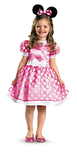 Minnie Mouse Clubhouse Classic Girl's Costume -