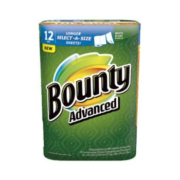 Amazon Com Bounty Advanced Select A Size Paper Towels
