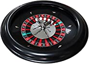 18Inch Roulette Wheel Set, Professional European Roulette Wheel, Turntable Leisure Table Games, Perfect for an