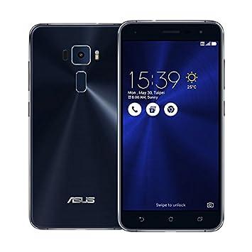 SIMフリー ASUS ZenFone 3 ZE520KL 3GB 32GB ブラック-Black 4G LTE (5.2inch/Full HD/Android 6.0/Qualcomm Snapdragon 625/2.0Ghz)ブラック 海外正規品 [並行輸入品] | スマートフォン本体