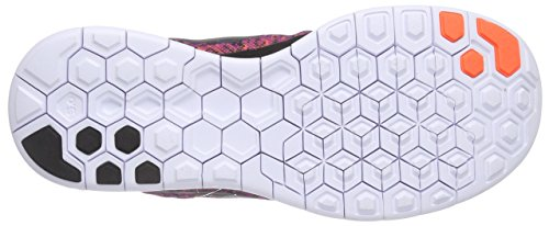 Nike Donne Libera 5.0 Stampa Vivido Viola / Arancio Iper / Bianco / Nero 5.5 B - Media