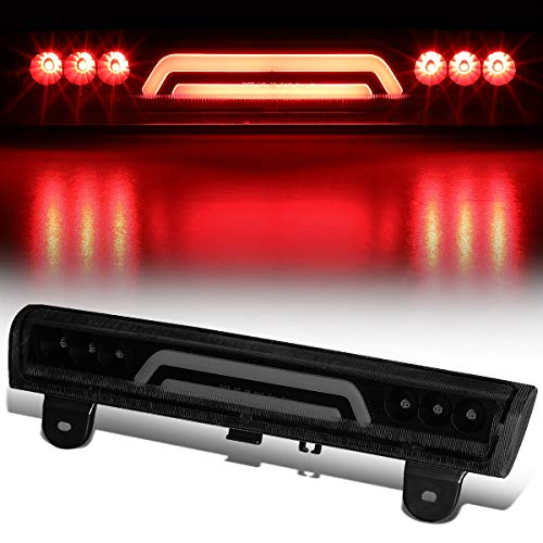 (3D LED Bar Rear Center Third 3rd Tail Brake Light for 00-06 Chevy Tahoe/Suburban GMC Yukon XL (Tinted))