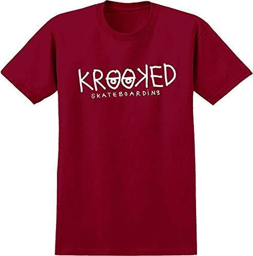 Krooked Skateboards Eyes Red Men