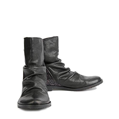 Felmini - Zapatos para Mujer - Enamorarse con Clash 9071 - Botines Cowboy & Biker - Genuine Cuero - Varios colores - 0 EU Size