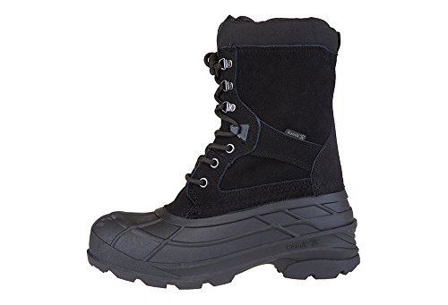 Kamik Mens Nationplus Boot Black