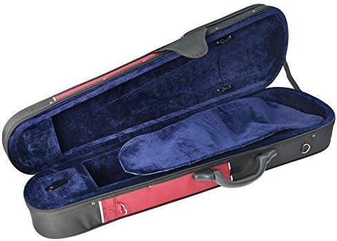 Forenza FA03VNF - Estuche para violín 1/4, color azul y negro: Amazon.es: Instrumentos musicales