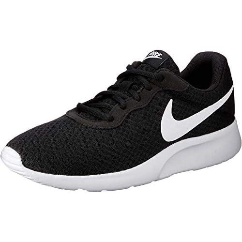 chollos oferta descuentos barato Nike Tanjun Zapatillas de Running para Hombre Negro Black White 011 42 EU
