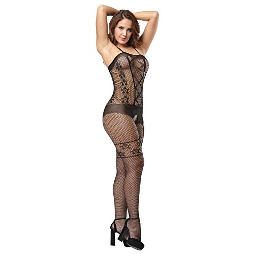 cfac2ba0c99 Deksias Fishnet Bodystocking Crotchless Bodystocking Bodystocking ...