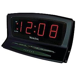 Westclox Instant-Set LED Alarm Clock