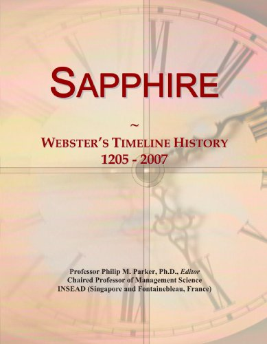Sapphire: Webster's Timeline History, 1205 - (Sapphire Line)