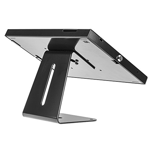 SecurityXtra SecureDOCK UNO Security Display Desk Mount for iPad 2,3,4,Air White by SecurityXtra