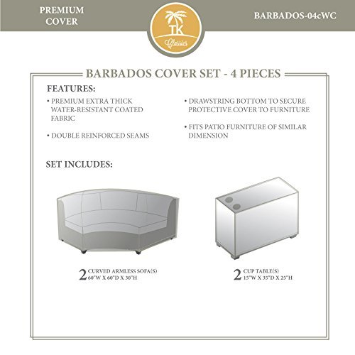 TK Classics BARBADOS-04cWC Barbados Winter Cover Set